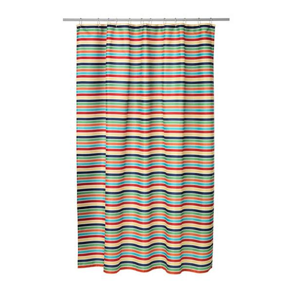 cortinas de baño ikea - Modelo Bokvik