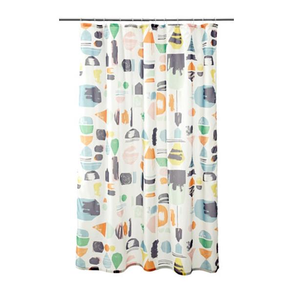 cortinas de baño ikea - Modelo Doftklint