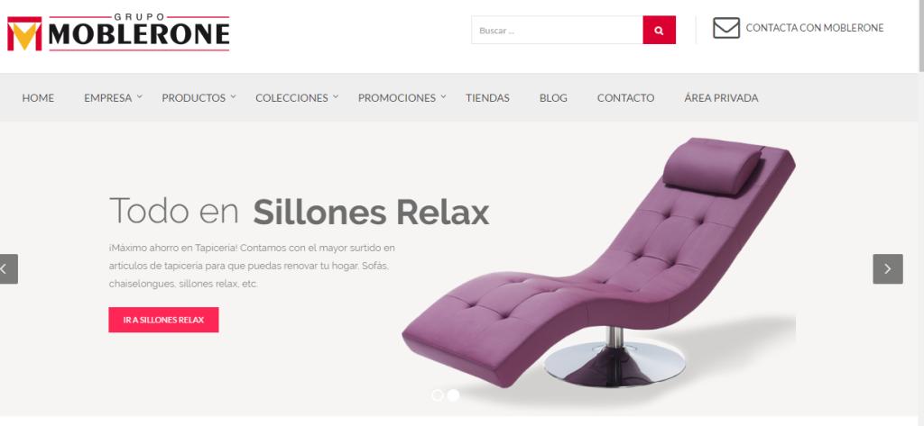 muebles baratos por Internet - Moblerone