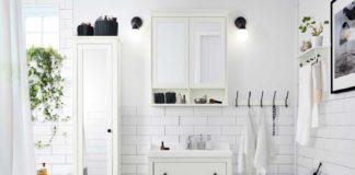 muebles de baño online, en blanco