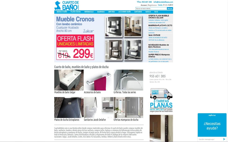 muebles de baño online - cuarto de baño
