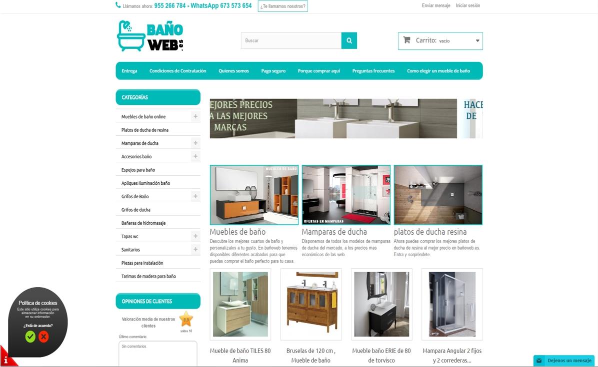 muebles de baño online - baño web