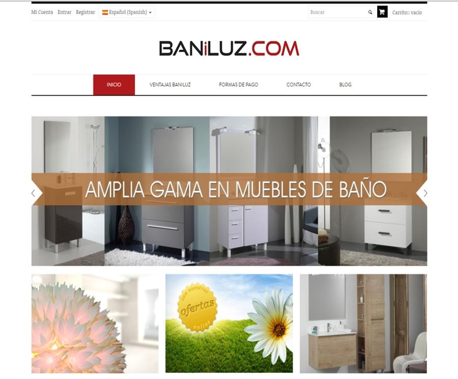 muebles de baño online - baniluz