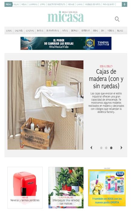 revistas de decoración - Mi casa
