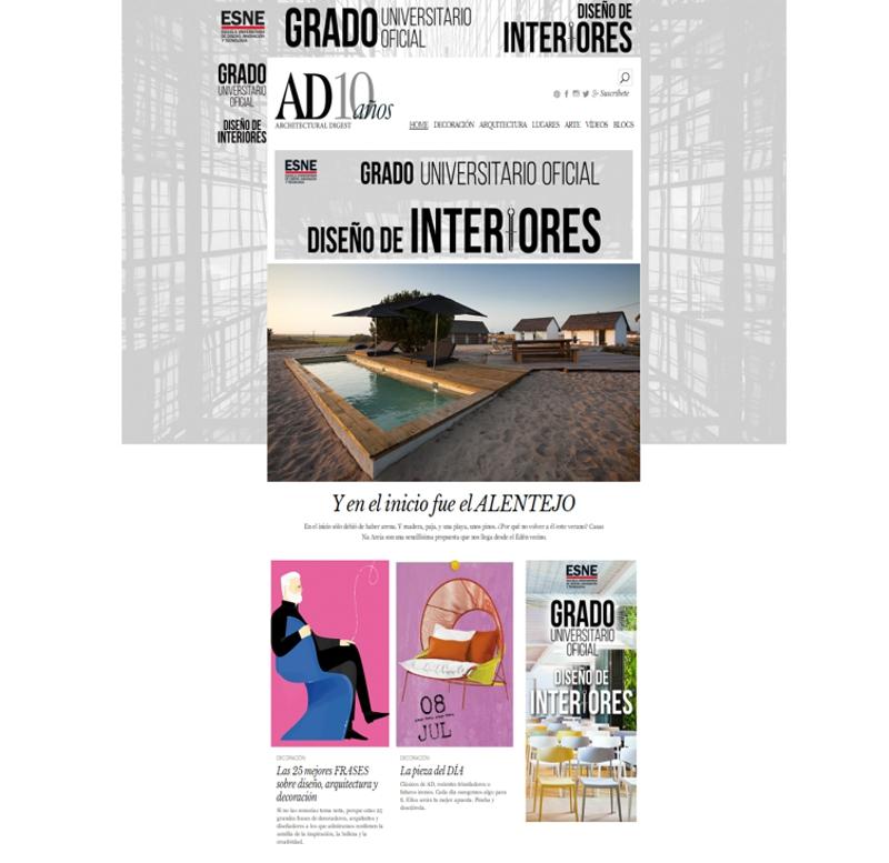 revistas de decoración - AD