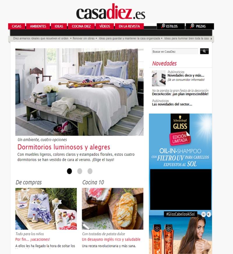 revistas de decoración - Casa Diez