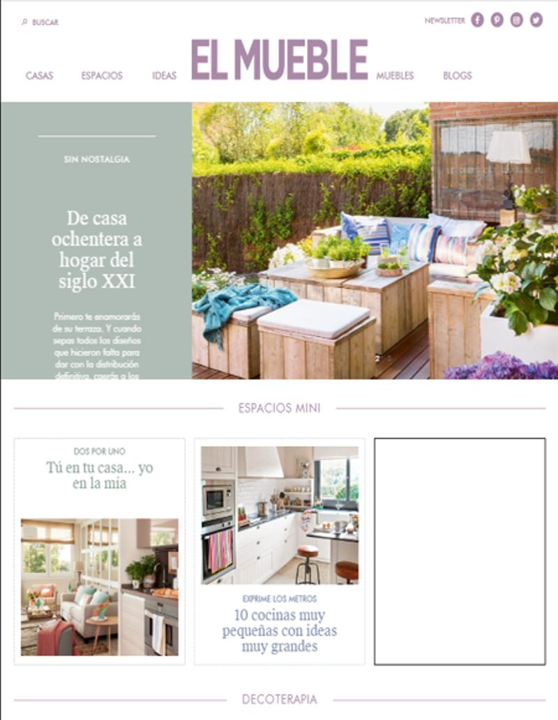 revistas de decoración - El mueble
