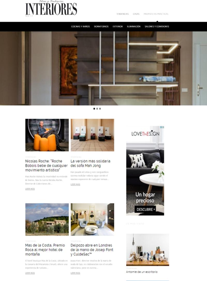 revistas de decoración - Interiores