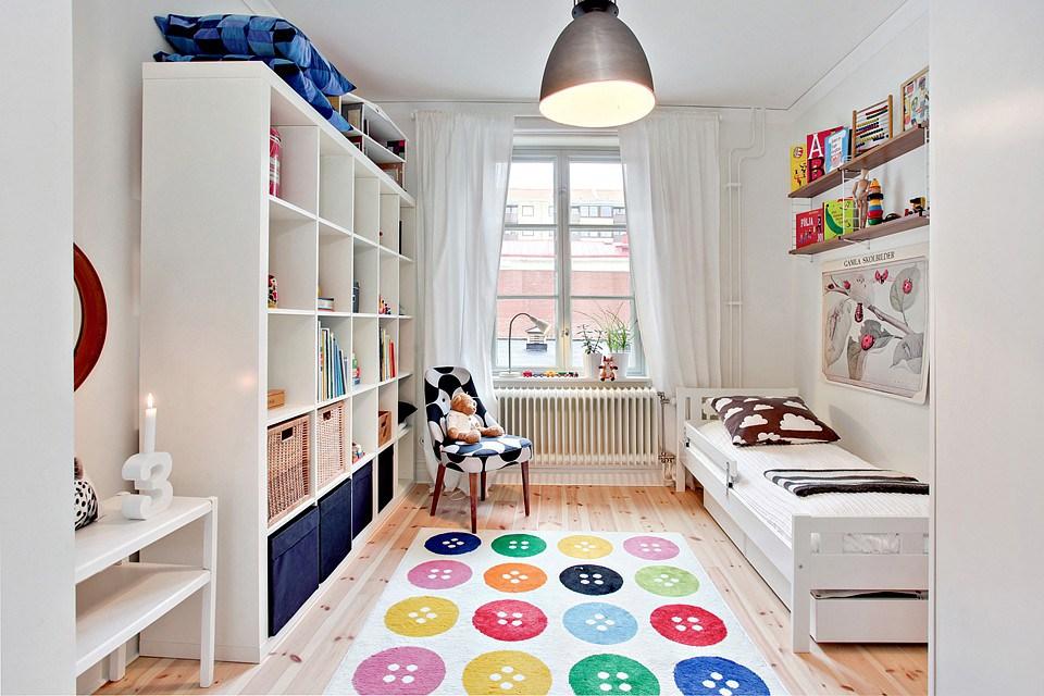 dormitorios infantiles de ikea - tonos claros