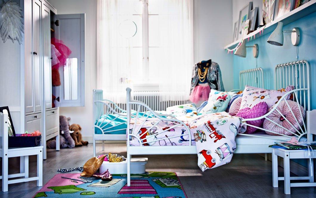 dormitorios infantiles de ikea de estilo vintage