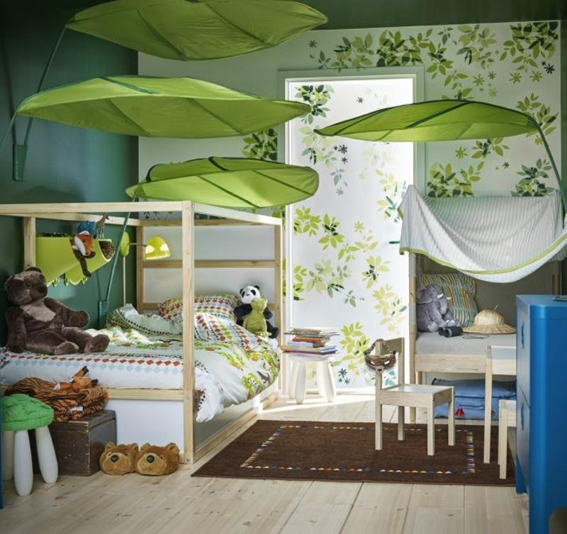 dormitorios infantiles de ikea - selva tropical