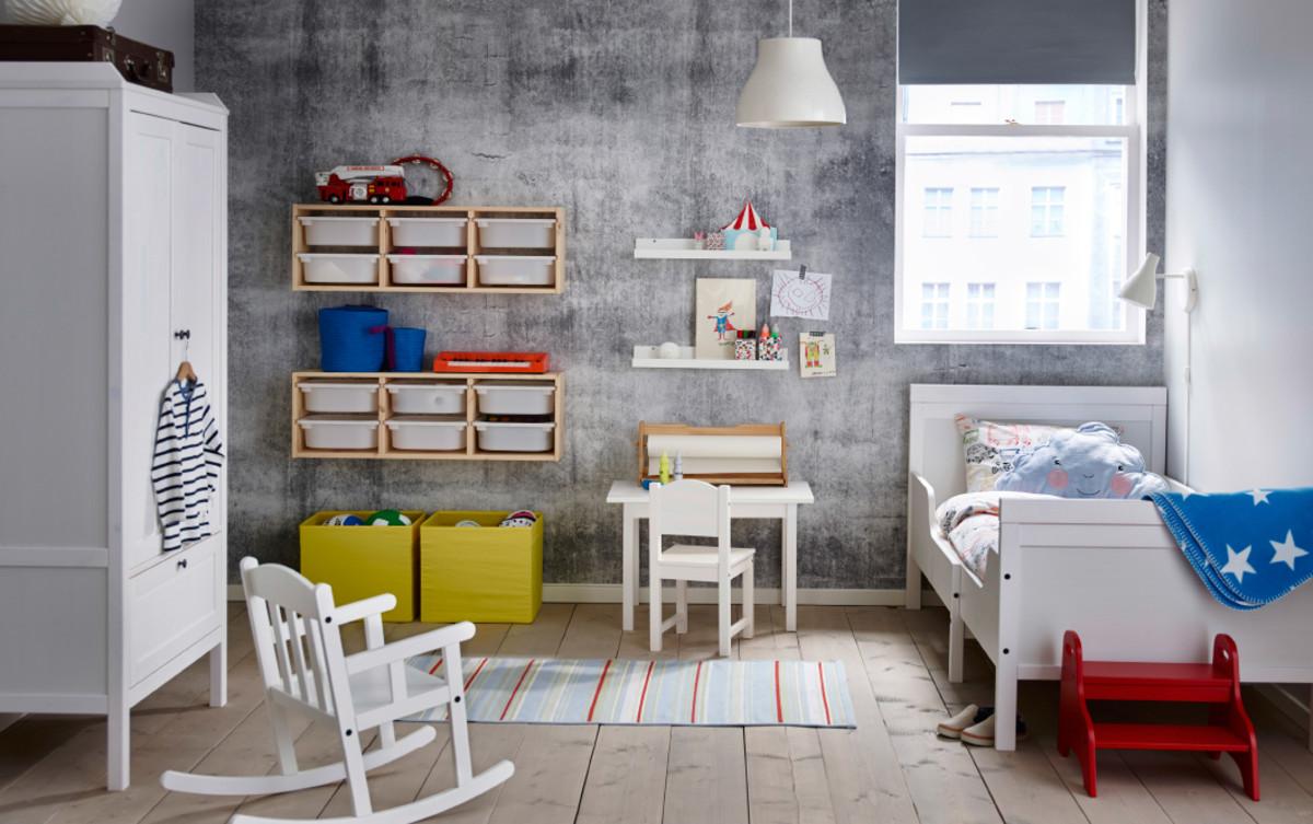 dormitorios infantiles de ikea para artistas