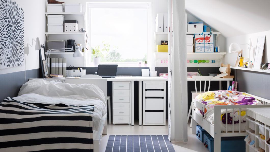 dormitorios infantiles de ikea - cortinas