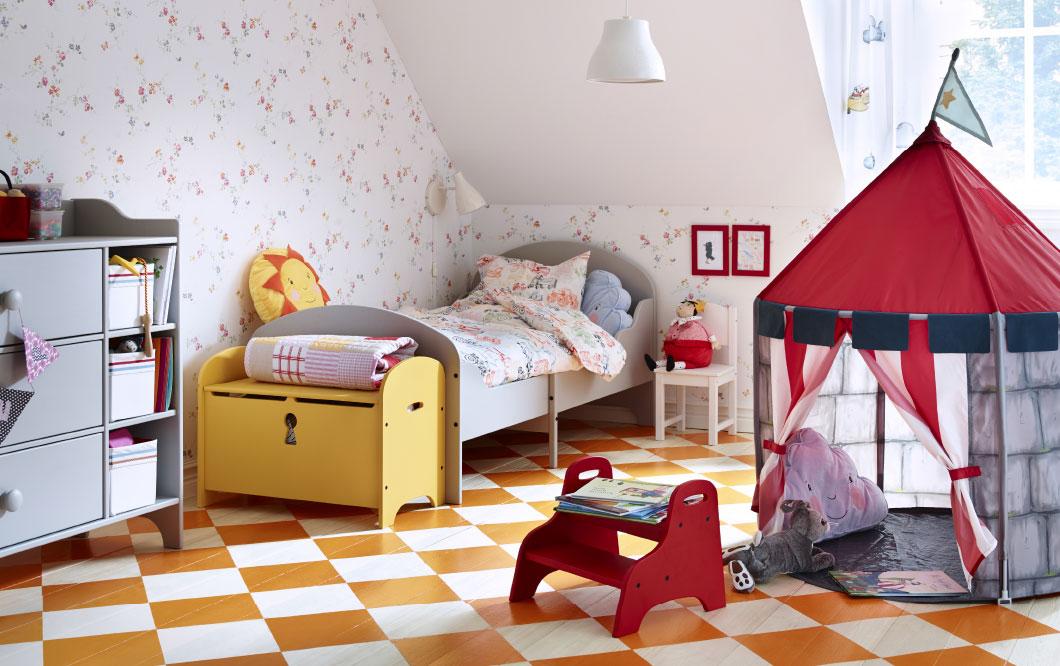 dormitorios infantiles de ikea mágicos