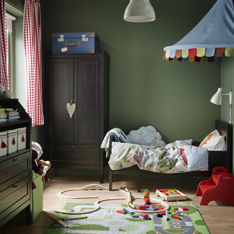 dormitorios infantiles de ikea para exploradores
