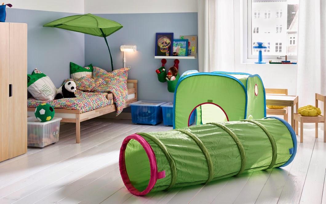 dormitorios infantiles de ikea para aventureros