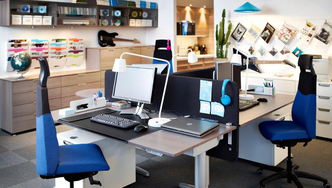 Mobiliario de oficina Ikea práctico