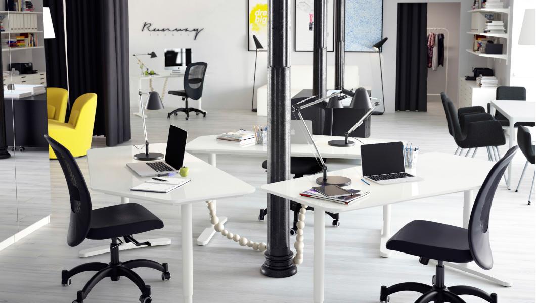 Mobiliario de oficina Ikea - diseño moderno