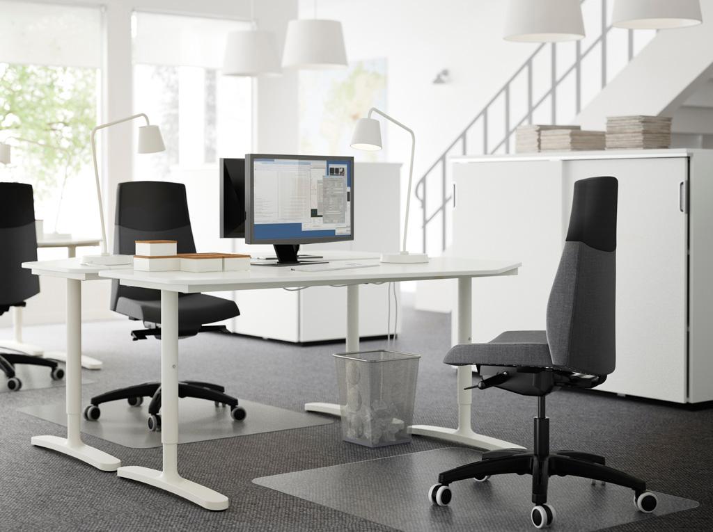 Mobiliario de oficina Ikea - iluminación