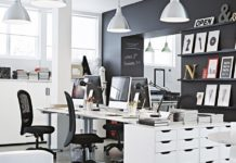 Mobiliario de oficina Ikea - decoración