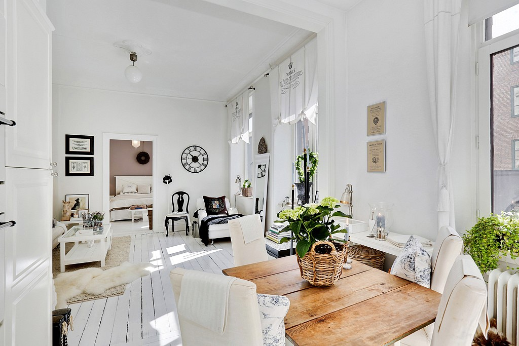 amueblar una casa pequeña - estilos decorativos