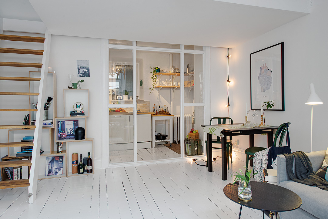 amueblar una casa pequeña y decorarla