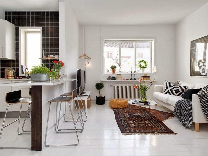 amueblar una casa pequeña - muebles de calidad