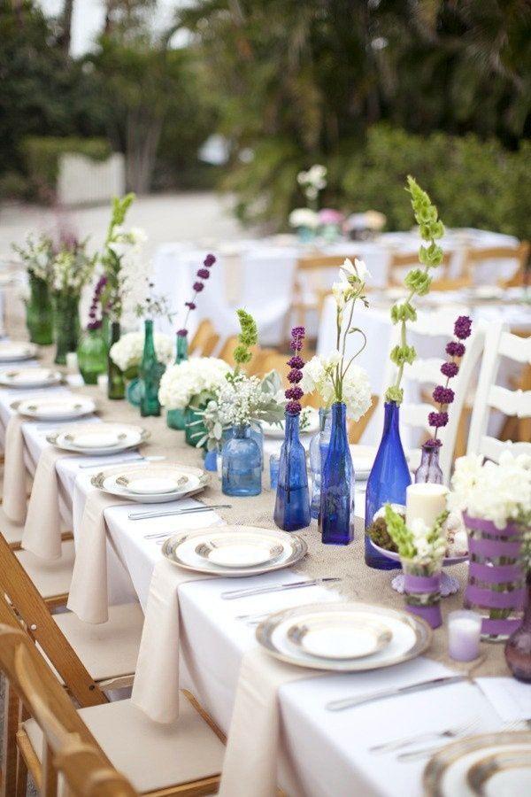 reciclar tarros de cristal para bodas