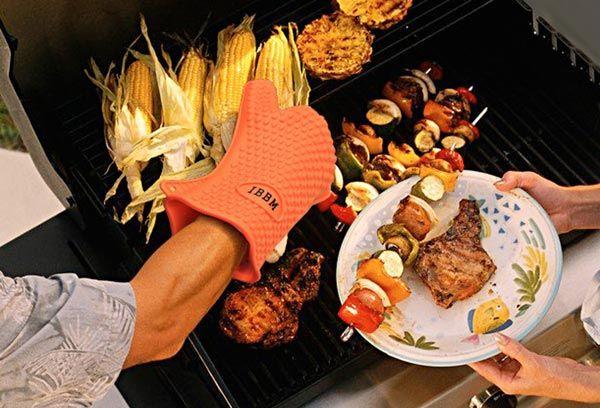 accesorios para barbacoa - guantes