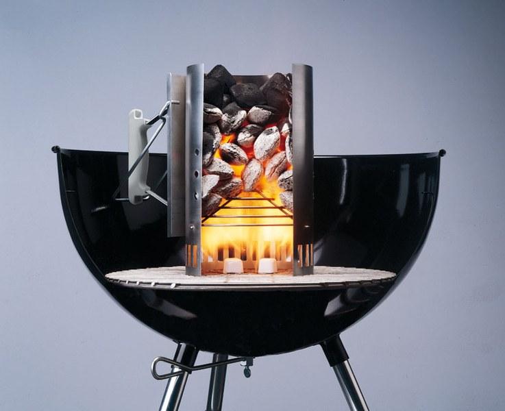 accesorios para barbacoa - chimeneas de encendido