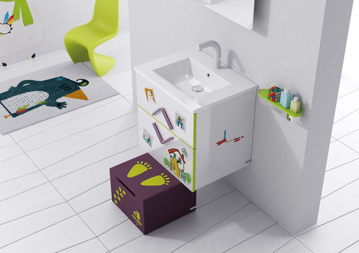 vinilos decorativos para baño - en los muebles