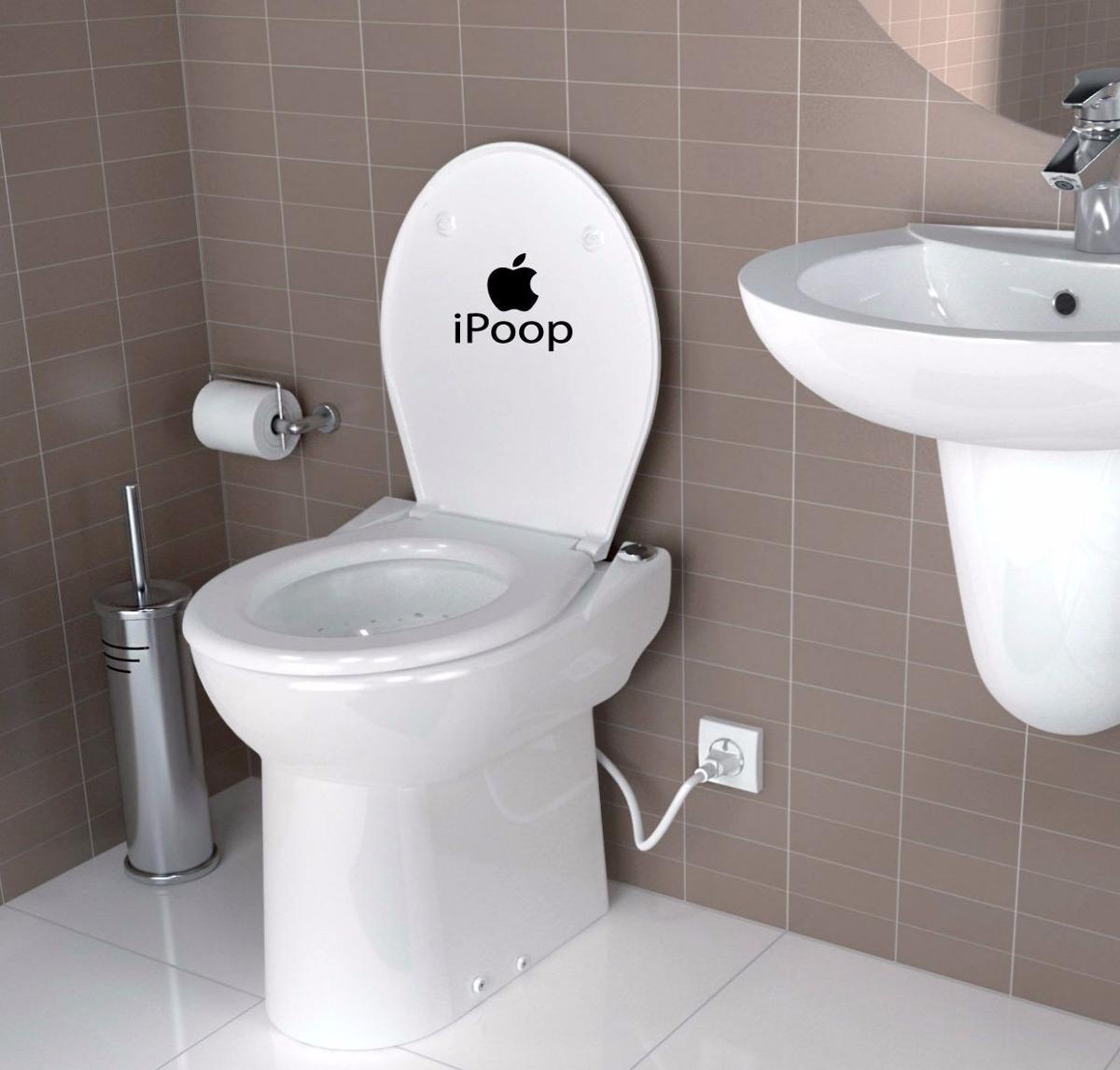 vinilos decorativos para baño - para el inodoro