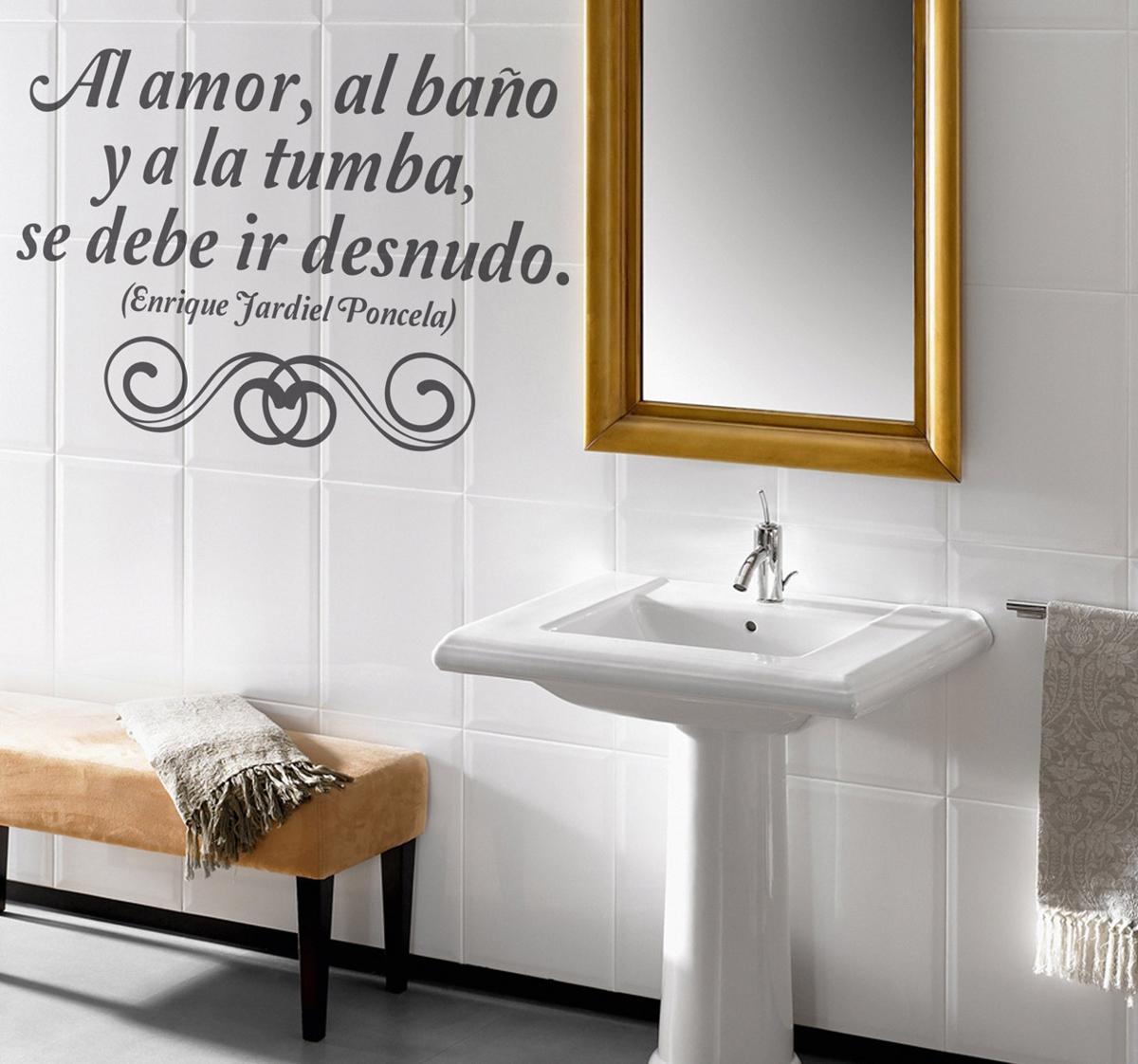 vinilos decorativos para baño - sobre los azulejos