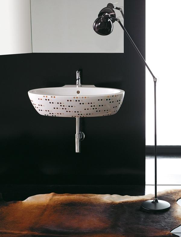 vinilos decorativos para baño- en el lavabo
