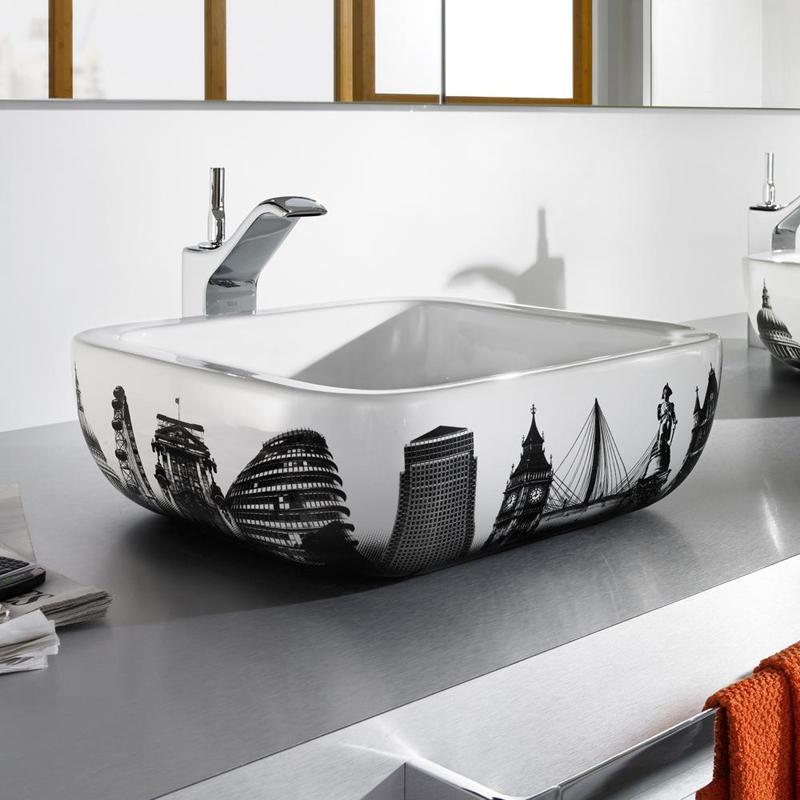 vinilos decorativos para baño - fotografías