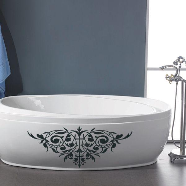 vinilos decorativos para baño - en la bañera