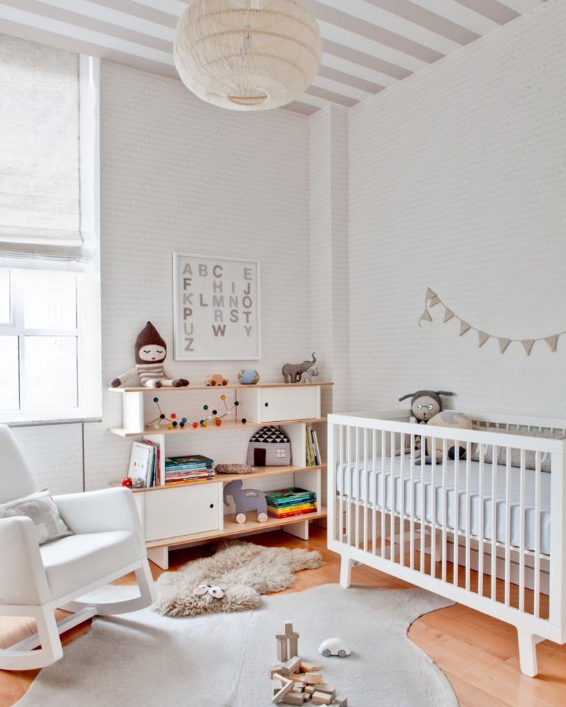 dormitorio de bebé - con muebles reciclados