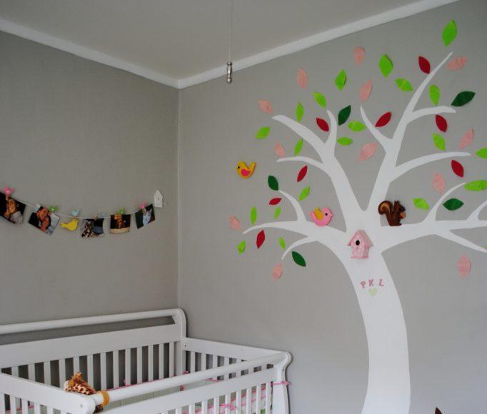 dormitorio de bebé - murales
