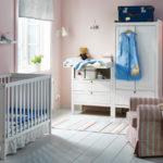dormitorio de bebé - colores pasteles