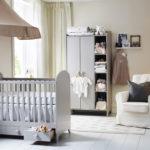 dormitorio de bebé- con los muebles necesarios