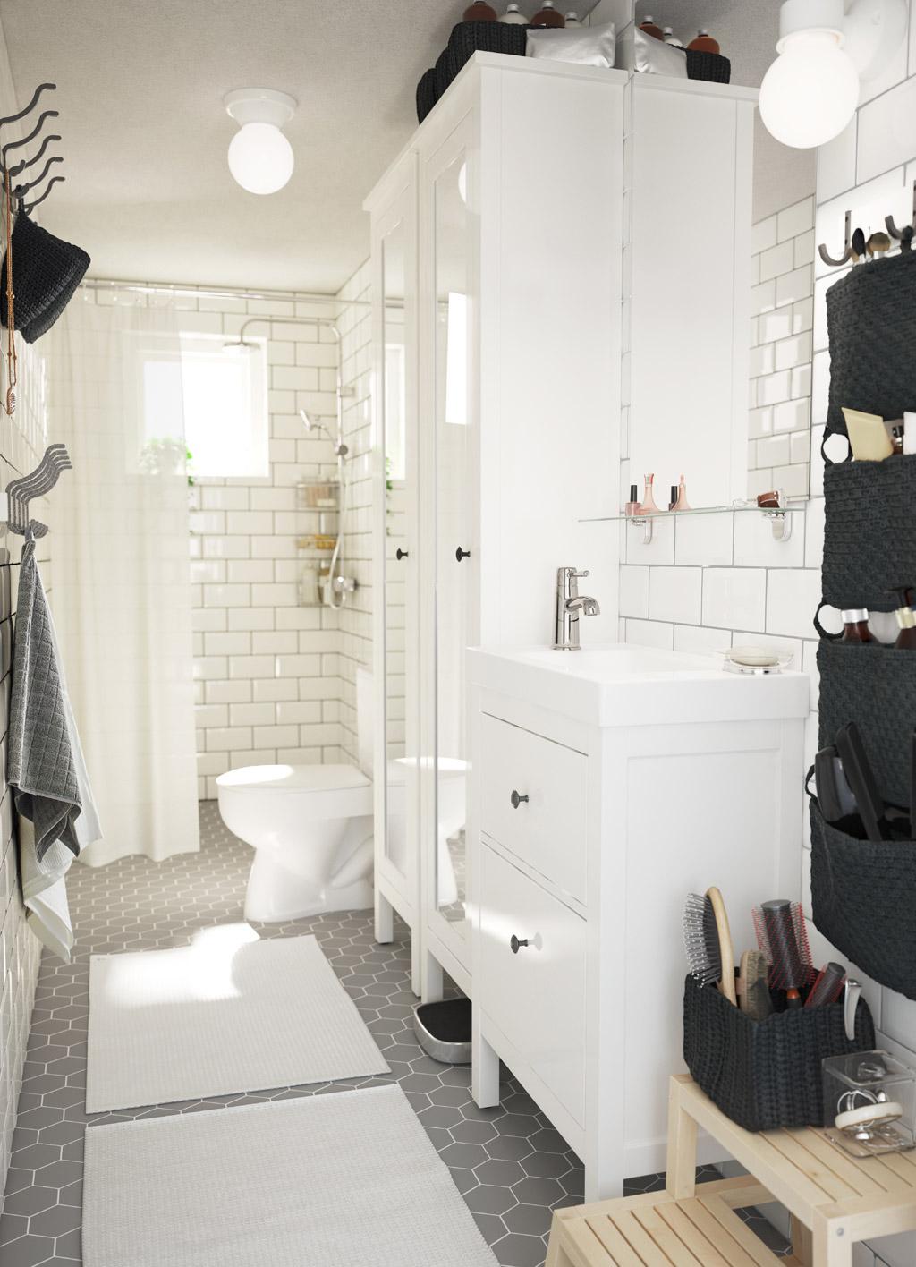muebles de baño baratos -en color blanco