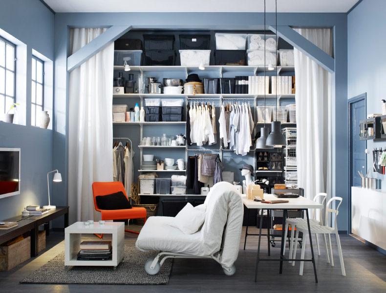estanterías estrechas - de Ikea