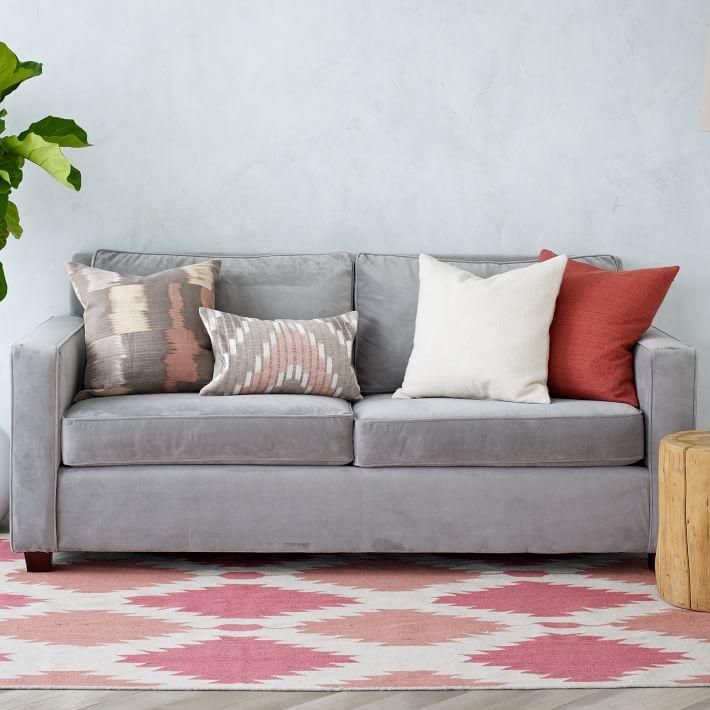 la alfombra perfecta en tonos rosados