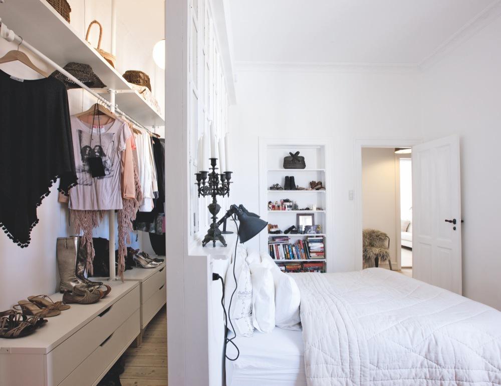 vestidor a medida - detrás de la camas