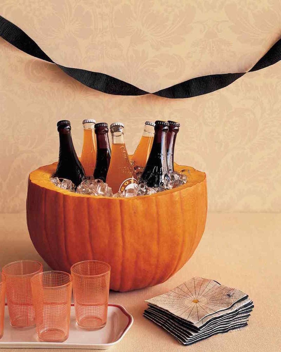 decoración de Halloween casera para bebidas