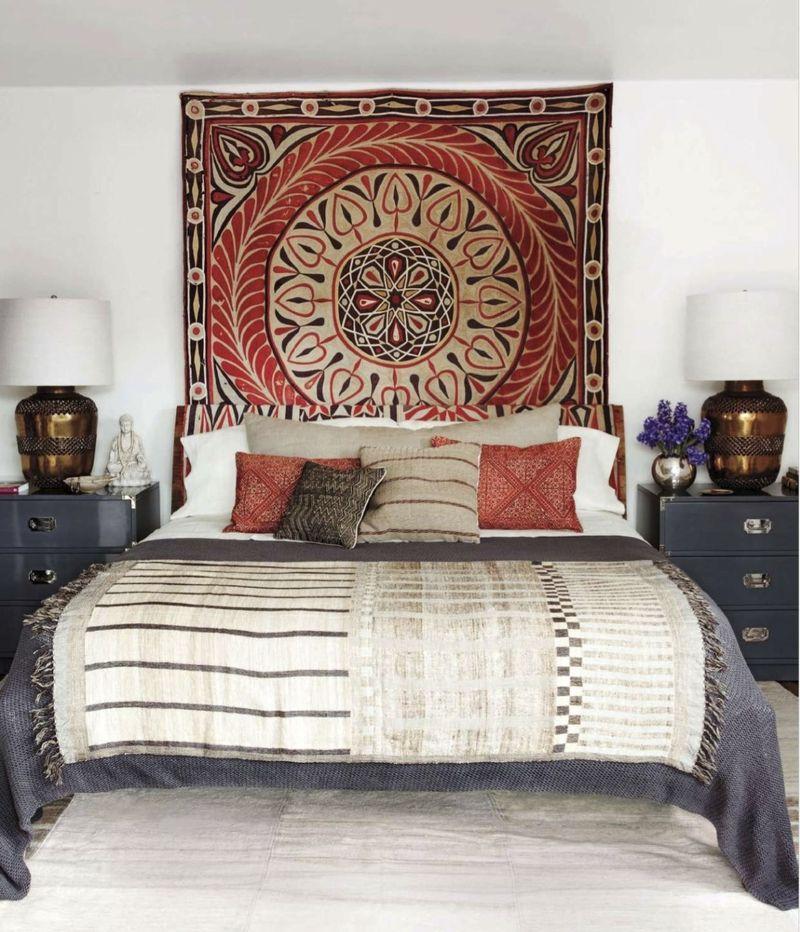 cabeceros originales con tapices