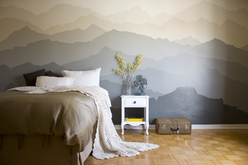 cabeceros originales con murales