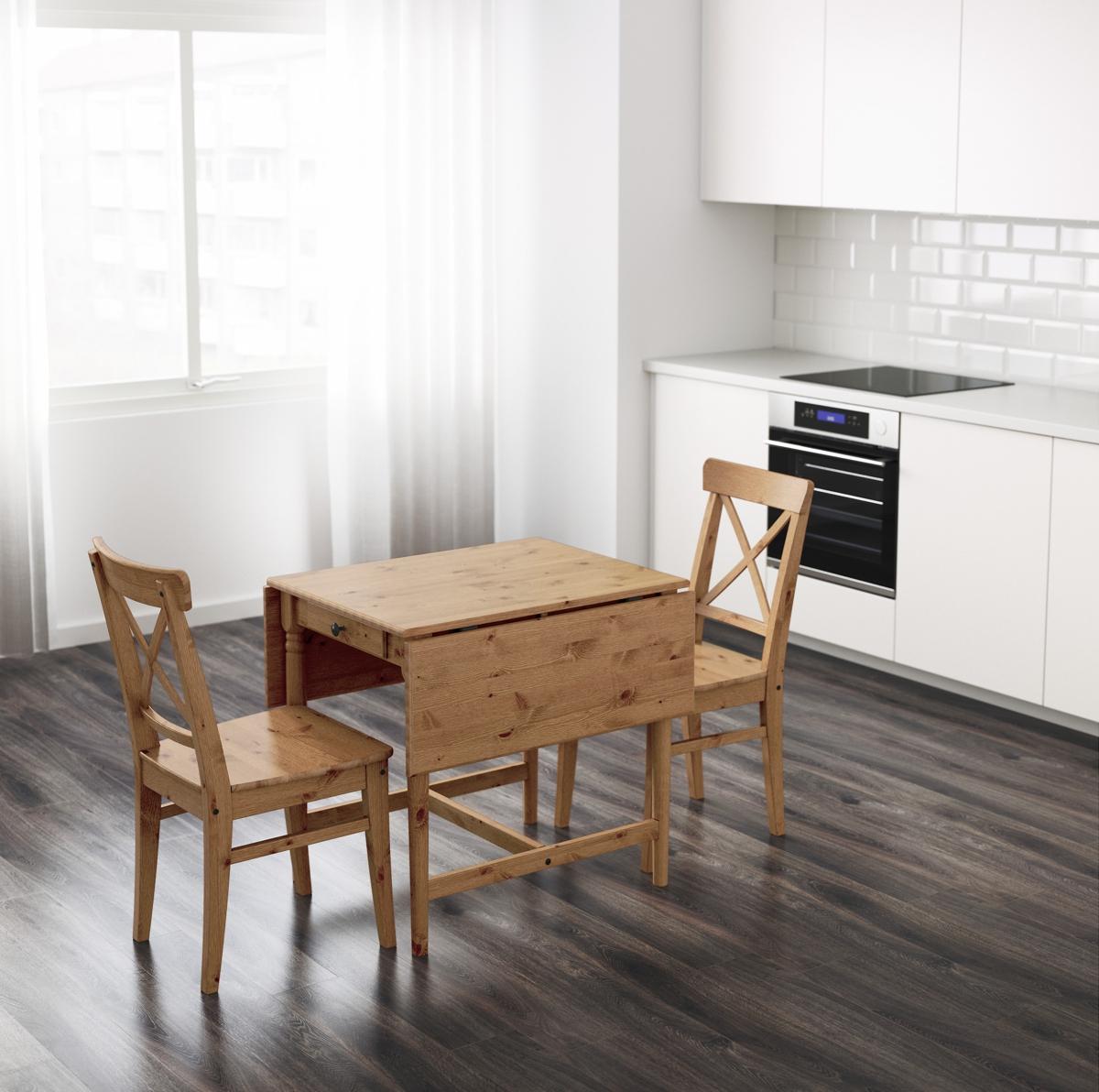 mesas abatibles Ikea - Ingatorp
