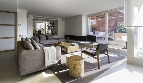 áticos de diseño - Salón amplio