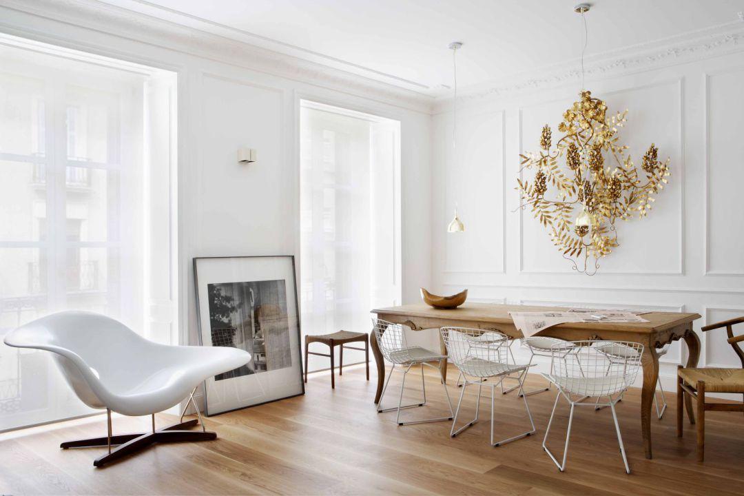 pisos decorados en blanco - Donostia